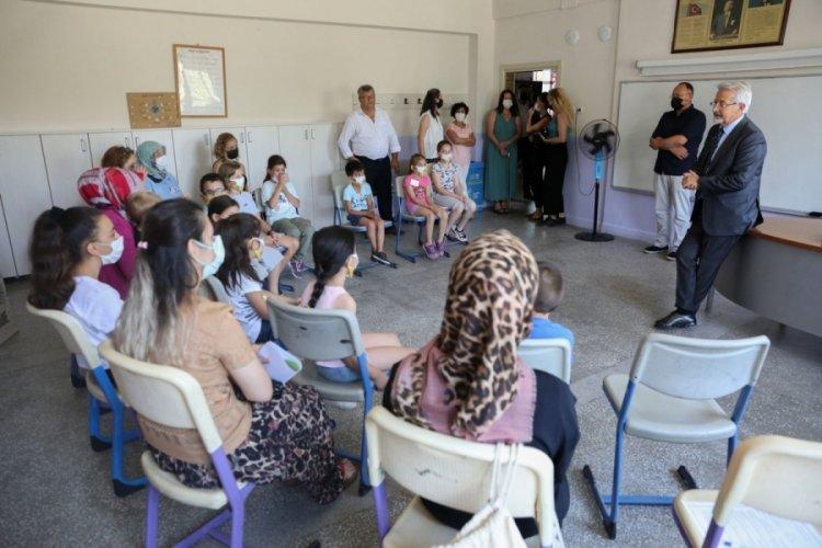Bursa Nilüfer Belediye Başkanı Erdem, çocukların eğlencesine ortak oldu