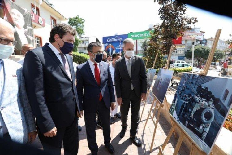 Bursa İnegöl Belediyesi'nden 15 Temmuz sergisi