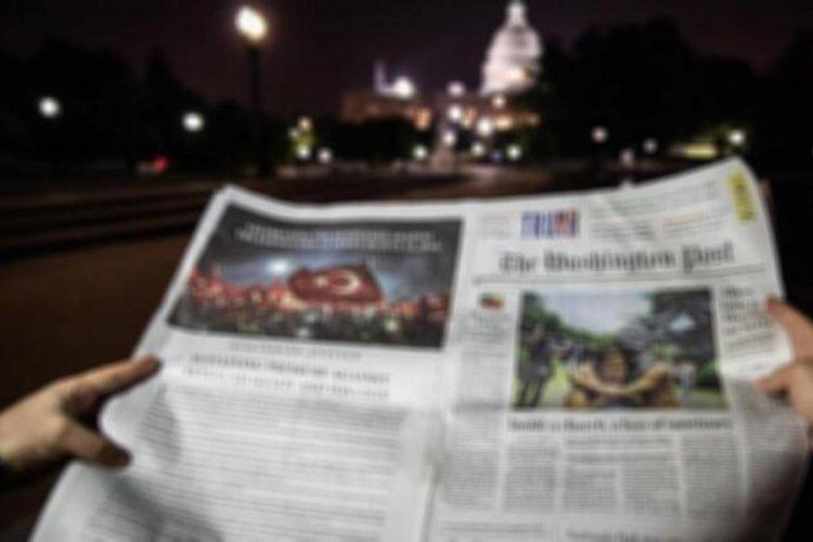 Türkiye'den Washington Post'a FETÖ ilanı
