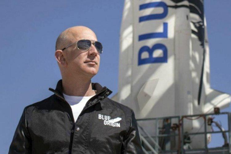 Jeff Bezos'a uzay yolunda yeni arkadaş: 18 yaşında...
