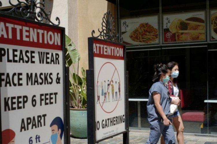 Los Angeles'ta maske zorunluluğu geri geliyor