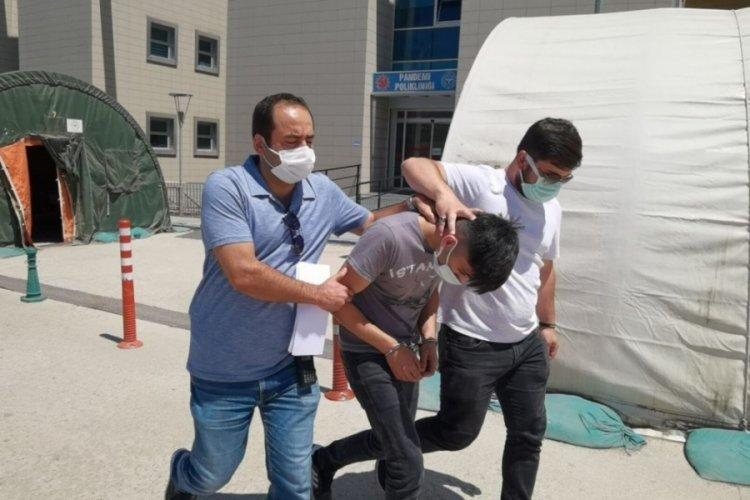 Bursa'da buzdolabından 3.5 kilo uyuşturucu çıkan zanlı tutuklandı