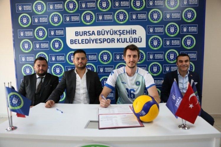 Bursa Büyükşehir Belediyespor Uğur Güneş'le sözleşme imzaladı