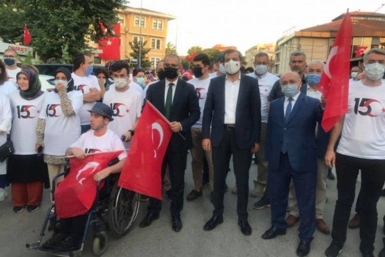 """Bursa Gürsu Belediye Başkanı Işık: """"Bağımsızlık meşalemizi söndürmeye kimsenin gücü yetemeyecektir"""""""