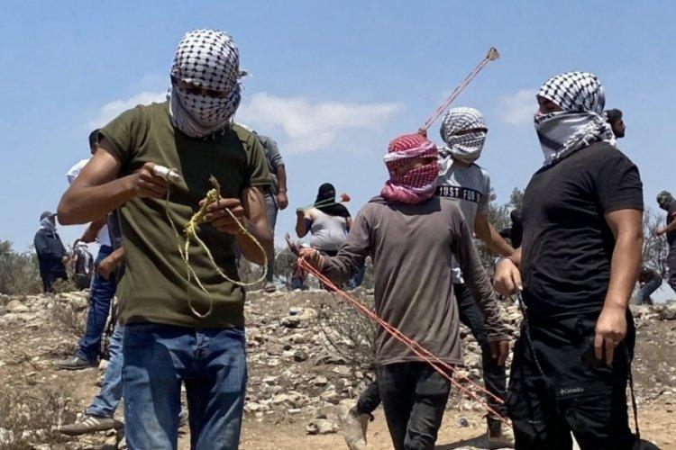 İsrail güçleri, Filistinlilere müdahale etti: 108 yaralı