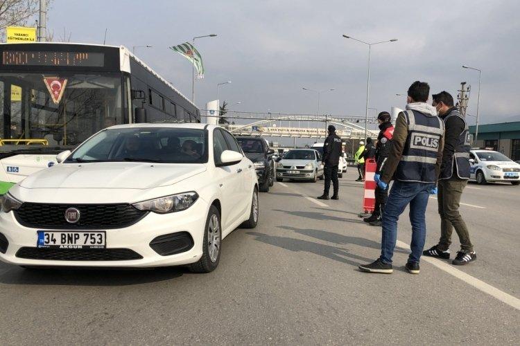 Bursa'da o yola dikkat! (17 Temmuz 2021)