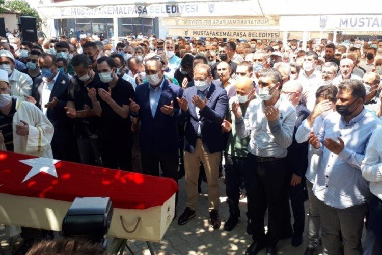 AK Parti Bursa eski milletvekili Ali Koyuncu son yolculuğuna uğurlandı