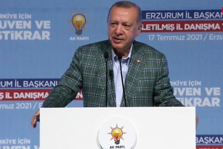 Cumhurbaşkanı Erdoğan: Milletimizin gösterdiği istikamette yürümeye kararlıyız