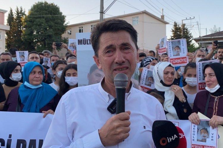 Yabancı uyruklu kişinin saldırısına uğrayan Ayşegül için yürüyüş düzenlendi