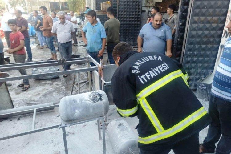 LPG deposunda patlama! 6 kişi yaralandı