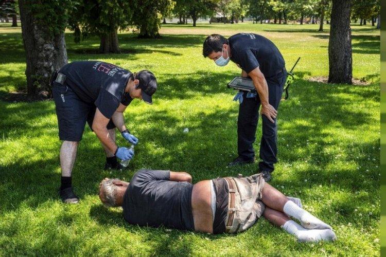 Kanada'da aşırı sıcaklar sebebiyle 808 kişi öldü!