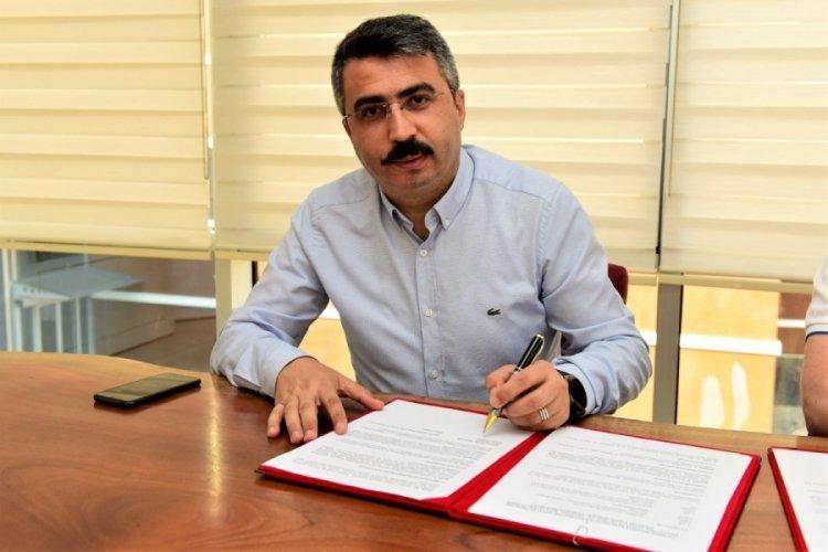 Bursa Yıldırım'da 'Engelsiz Yaşam Merkezi' projesinde imzalar atıldı
