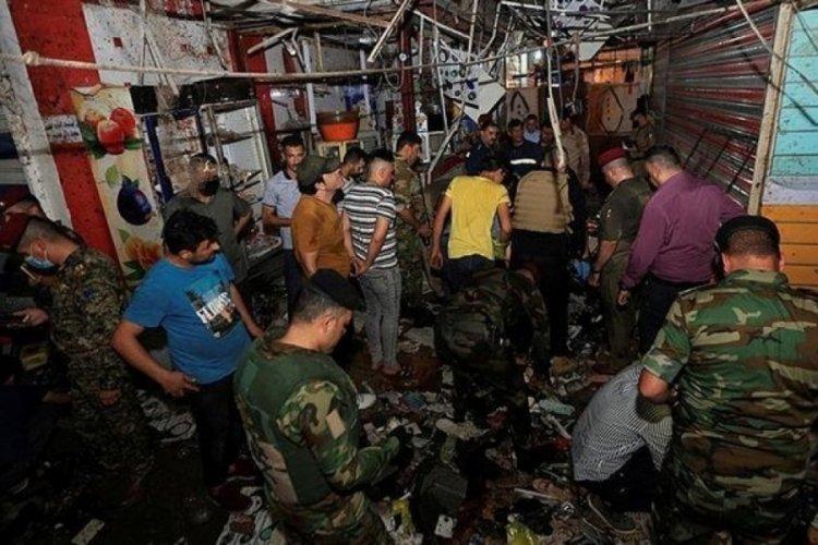 Bağdat'ta patlama: 22 can kaybı!