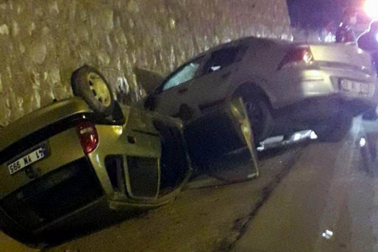Samsun'da kaza: 4 yaralı