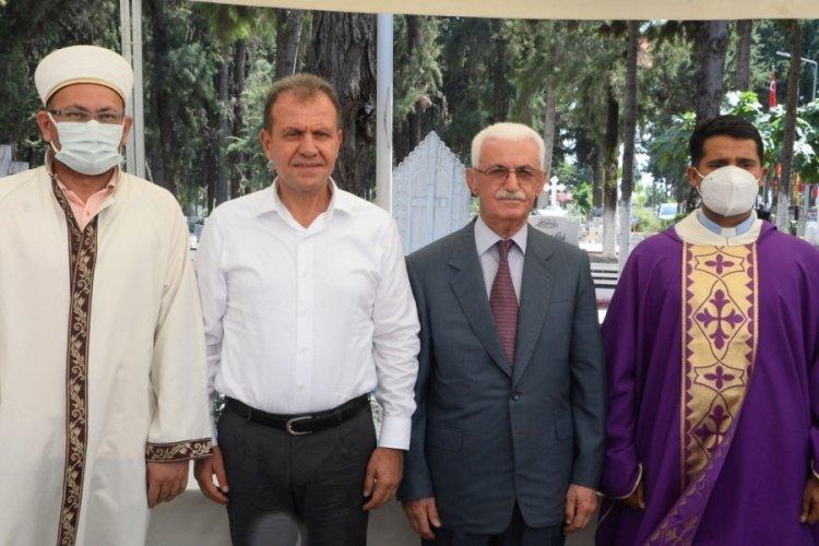 Mersin'de din adamlarından barış mesajı!
