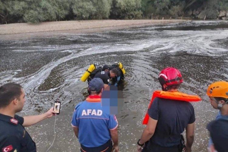 Bursa'da akıntıyla sürüklenerek boğuldu