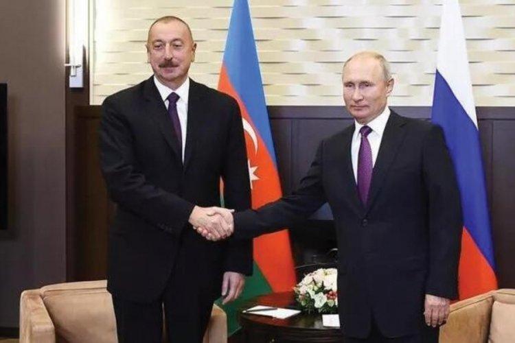 Putin ile Aliyev görüşmesi gerçekleşti!