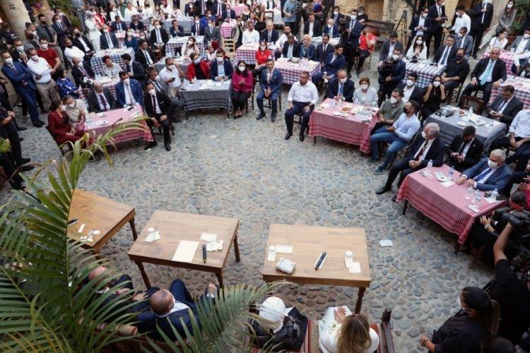 Cumhurbaşkanı Erdoğan KKTC'de gençlerle bir araya geldi!