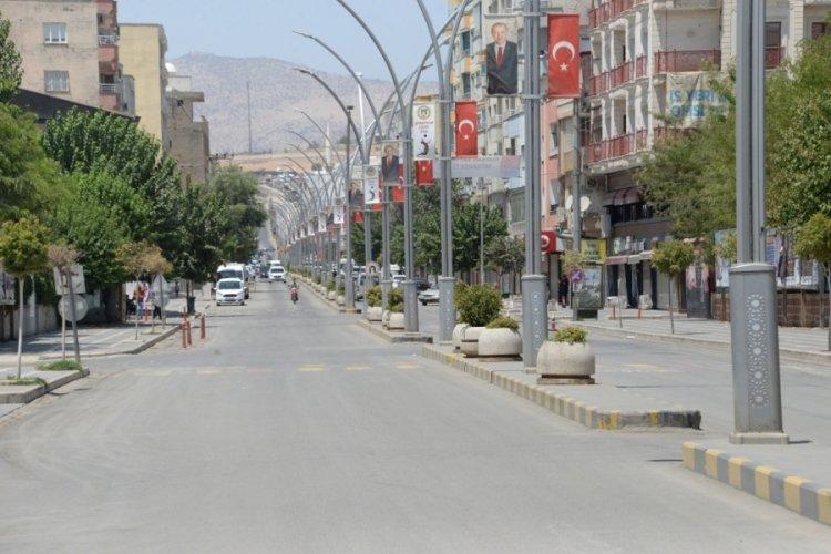 49.1 derece sıcaklık rekorundan sonra sokaklar bomboş kaldı