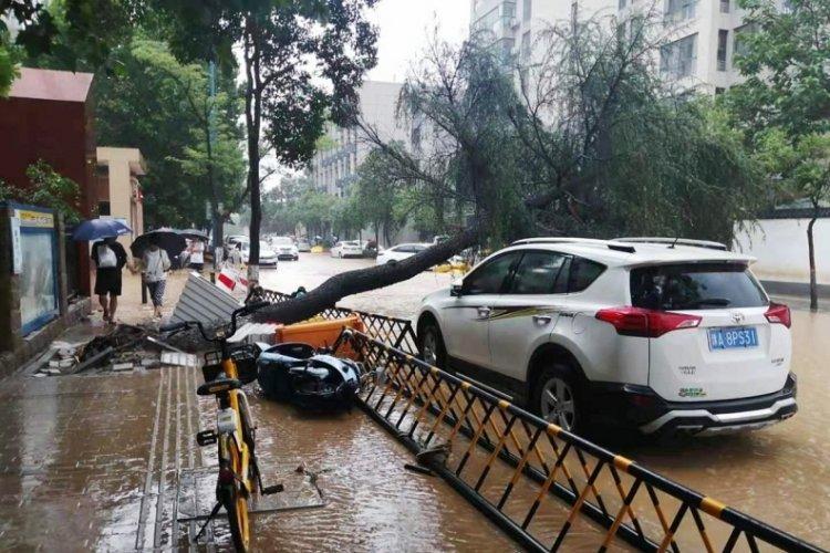Çin'deki sel felaketinde can kaybı 25 oldu