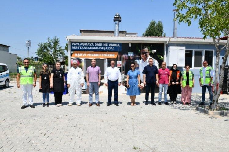 Bursa Mustafakemalpaşa'da hayırda yarış rekoru
