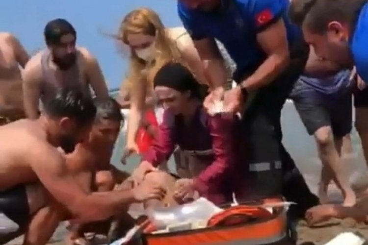 Yüzmek için denize giren 2 kardeş boğuldu