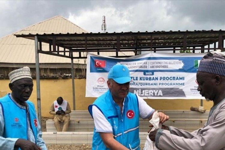 Diyanet Vakfı, Nijerya'da 20 bin ihtiyaç sahibine kurban ulaştırdı