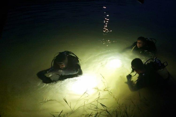 Samsun'da gölete giren kişi kayboldu
