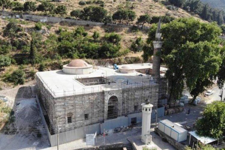 Restorasyonda ortaya çıktı: Bizans sütunlarını sıvamışlar