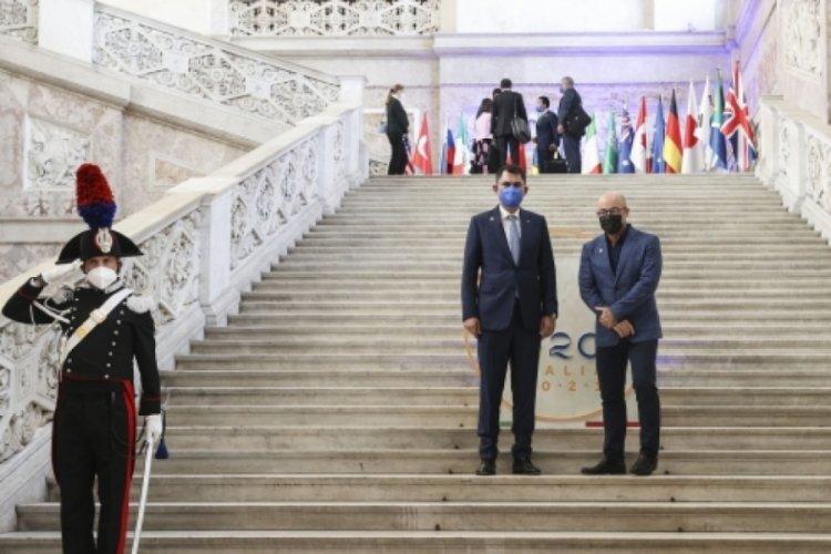 G20 Çevre Bakanları Napoli'de toplandı