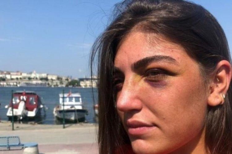 Manken Gizem Akbaş'ın gece kulübünde acımasızca darp edildiği anlar kamerada