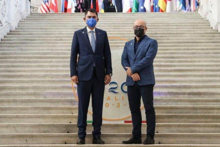 Bakan Murat Kurum, G20 Çevre Bakanları Toplantısı'na katıldı