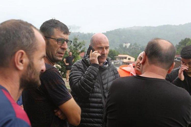Süleyman Soylu: Murgul'da 1 vatandaşımız kayıp