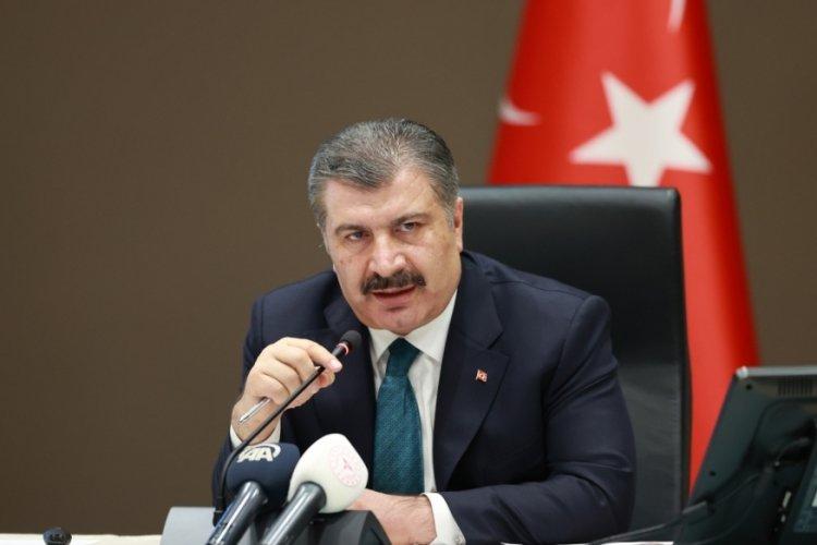 Sağlık Bakanı Fahrettin Koca: Yarın muhtemelen daha yüksek bir sayıyla karşılaşacağız