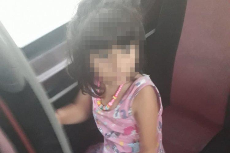 Anne, 5 yaşındaki kızını minibüste unuttu