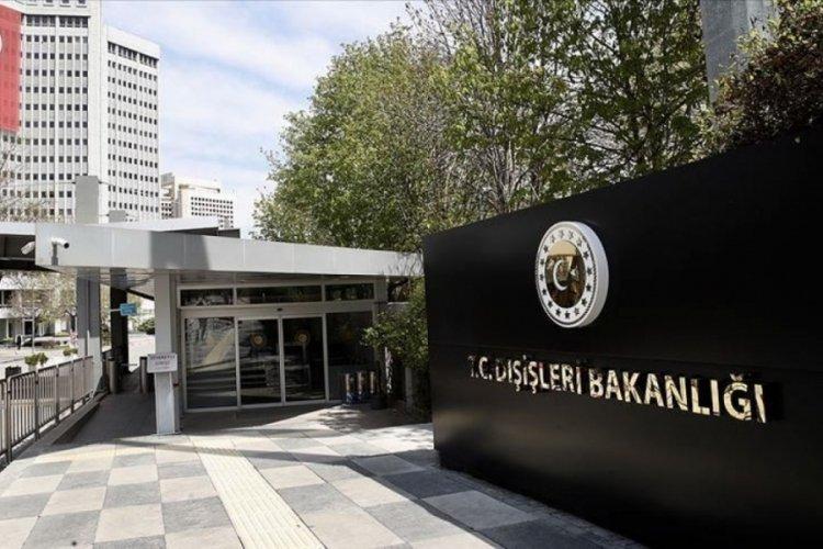 Dışişleri Bakanlığı: Açıklamaları tümüyle reddediyoruz