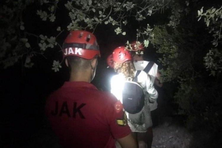 Fethiye'de kaybolan 2 tatilci, 4 saat sonra bulundu