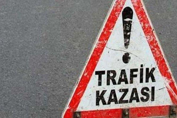 Bursa'da motosiklet kazası