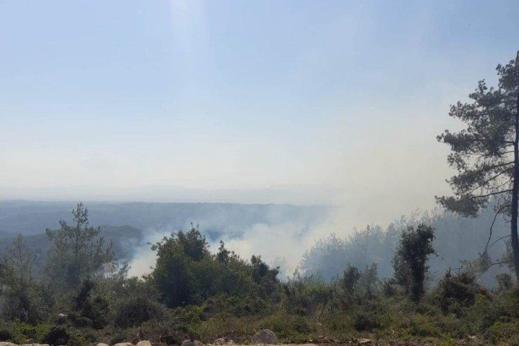 Son 24 saatte 17 orman yangını meydana geldi