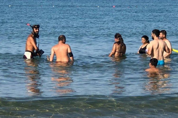 Antalya sahilleri, define avcılarına kaldı