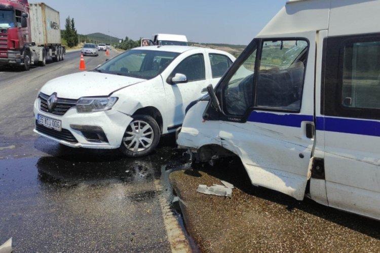 Manisa'da zincirleme kaza: Çok sayıda yaralı var...