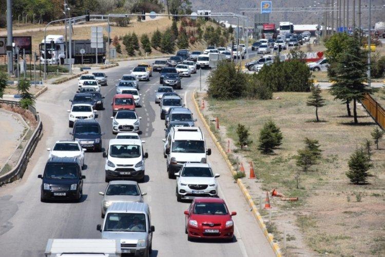 Kilit kavşaktan 2 milyona yakın araç geçti