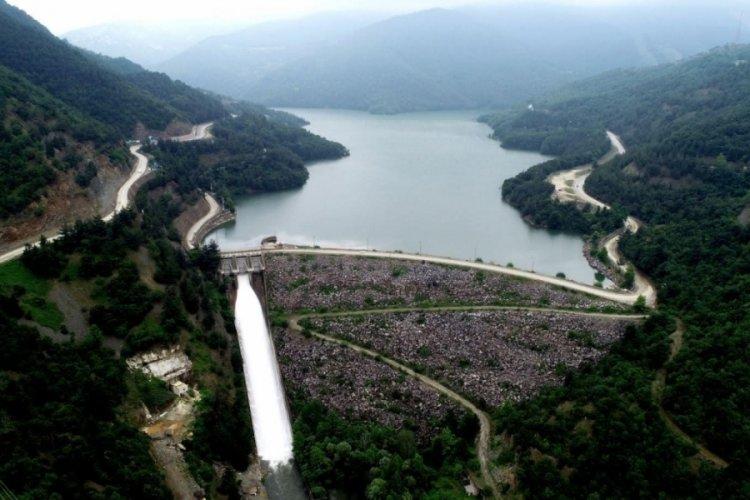 Bursa'da barajların doluluk oranı sevindirdi
