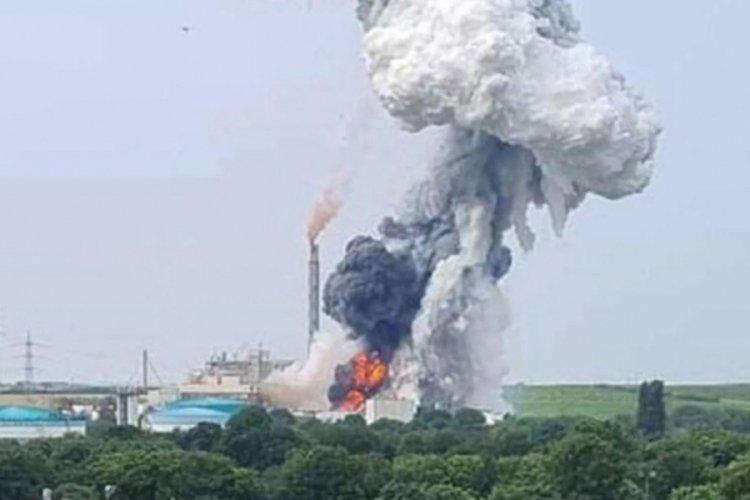 Almanya'da kimya tesisinde patlama: 5 kişi kayıp!