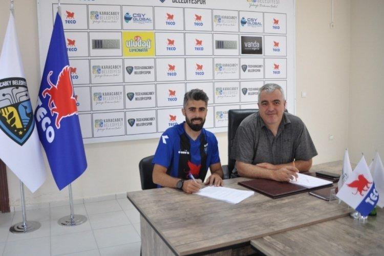 Karacabey Belediyespor Hakan Arslan'ı kadrosuna kattı