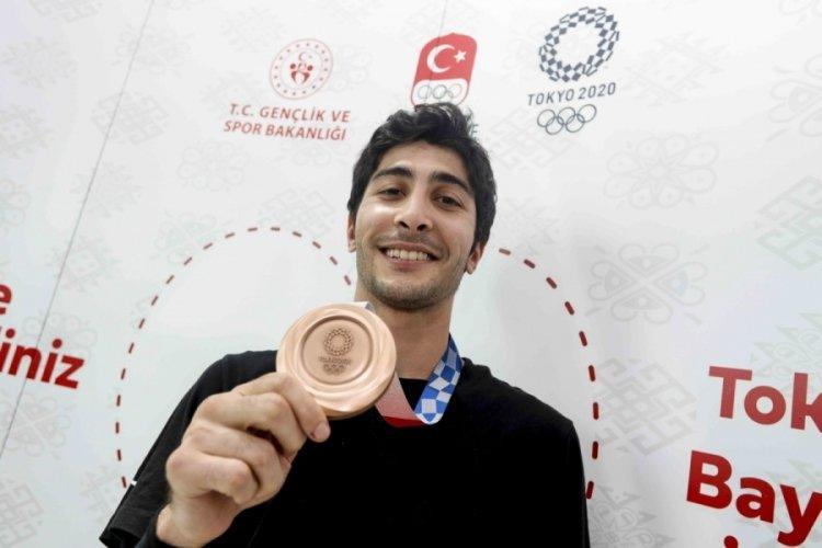"""Hakan Reçber: """"Elimden geleni yaptım ve bronz madalyayı kazandım"""""""