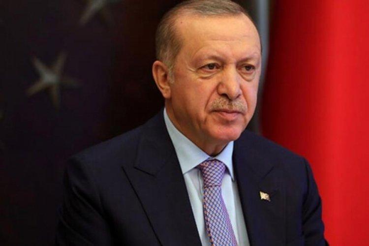 Cumhurbaşkanı Erdoğan'dan şehit Halil Çelebi'nin ailesine başsağlığı mesajı