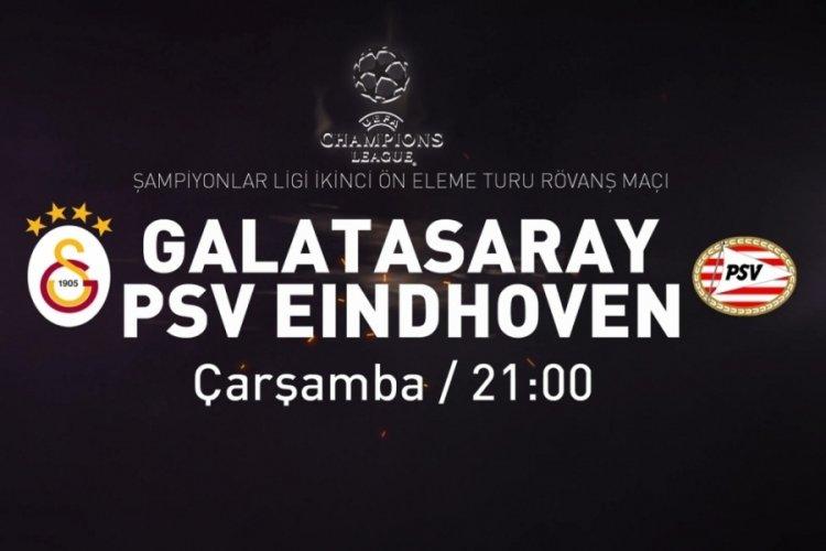 Galatasaray-PSV Eindhoven maçı hangi kanalda ve saat kaçta?