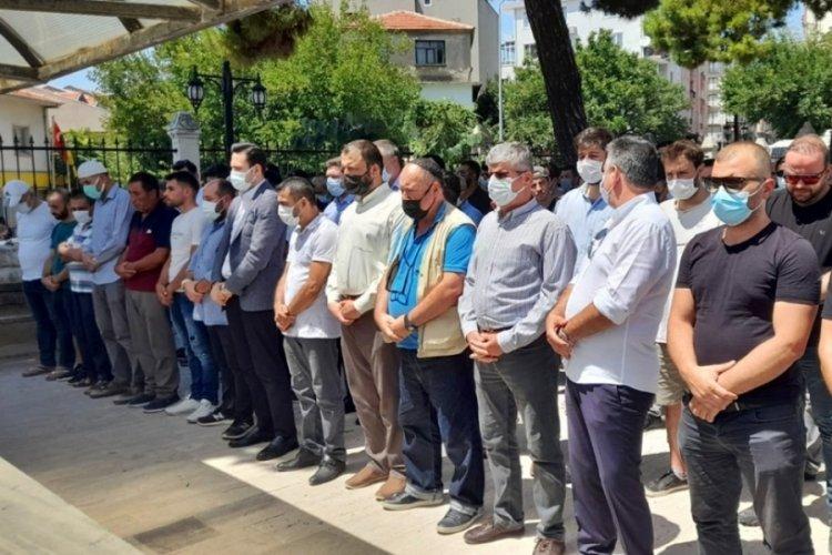 Bursa'daki tır kazasında hayatını kaybeden kişi toprağa verildi