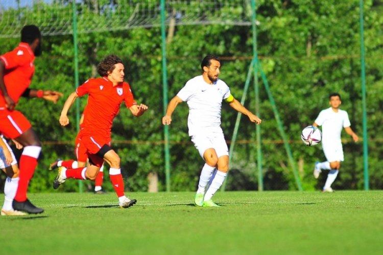 Bursaspor, hazırlık maçından mağlup ayrıldı